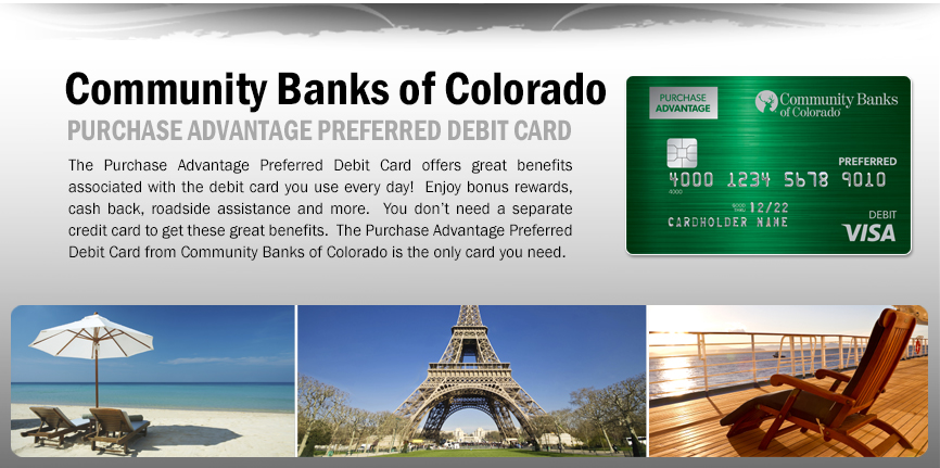 Purchase Advantage Preferred Debit Card